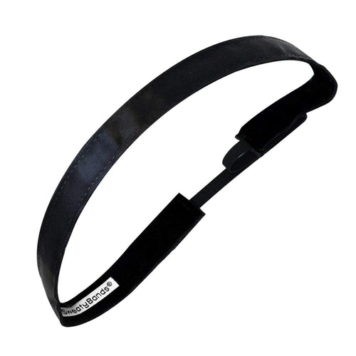 Simply Satin | Black | 5/8 Inch Sweaty Bands