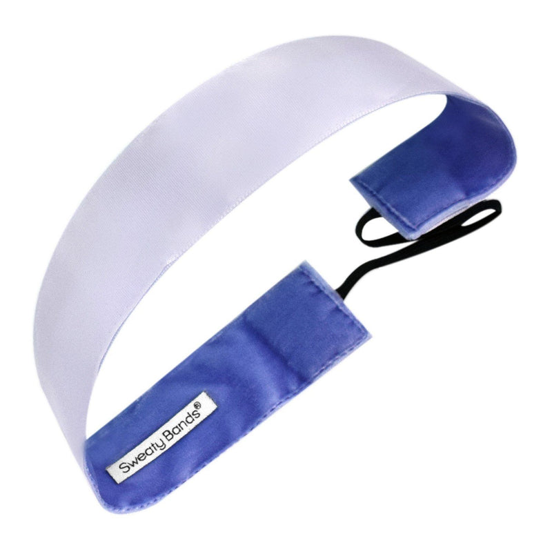 Simply Satin Thick Lavender Sweaty Bands Non Slip Headband