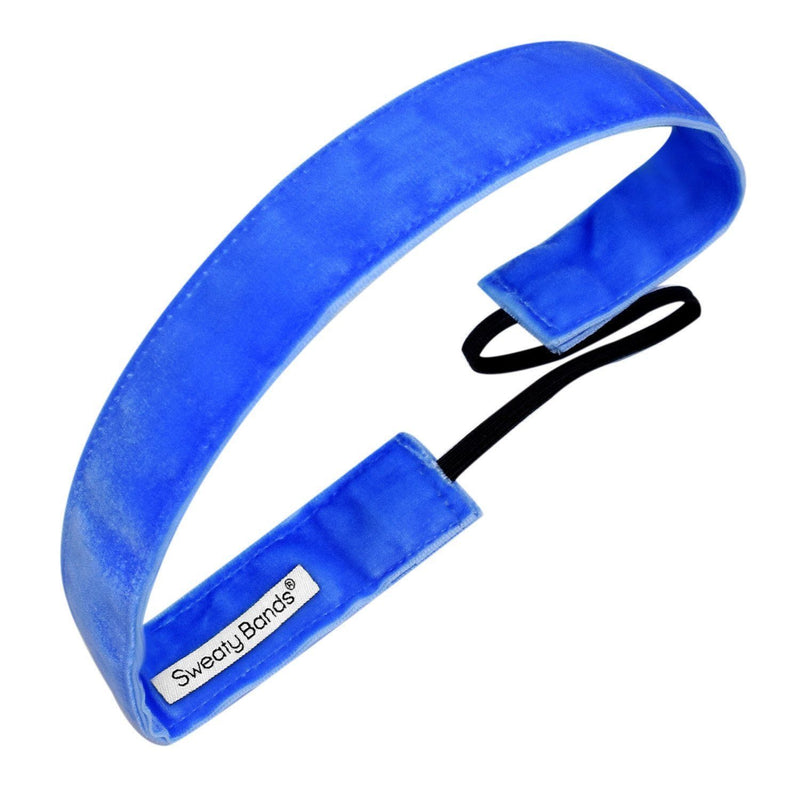 Smooth as Velvet Royal Sweaty Bands Non Slip Headband