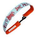 State Pride | Don't Mess With Texas | Teal, Red | 1 Inch Sweaty Bands Non Slip Headband
