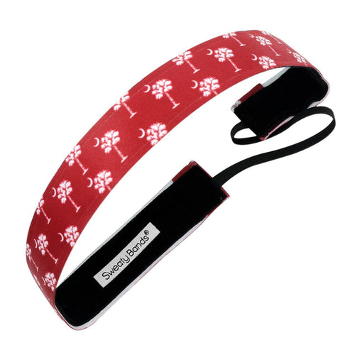 State Pride South Carolina Red Sweaty Bands Non Slip Headband