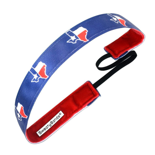 State Pride Texas Blue Sweaty Bands