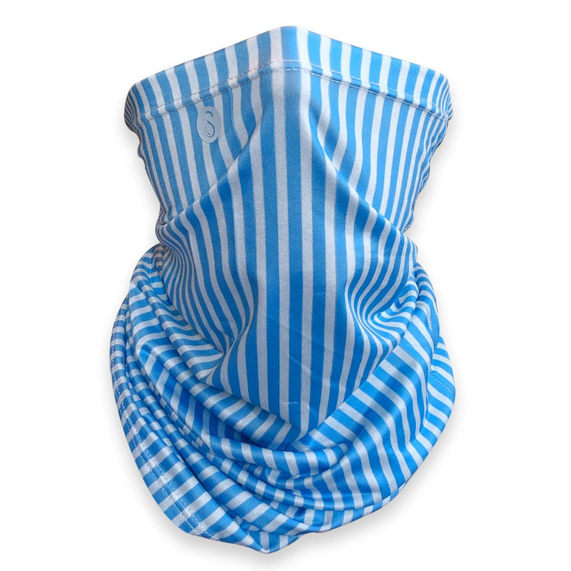 Sweaty Tubes | Pinstripes | Light Blue Sweaty Bands Non Slip Headband