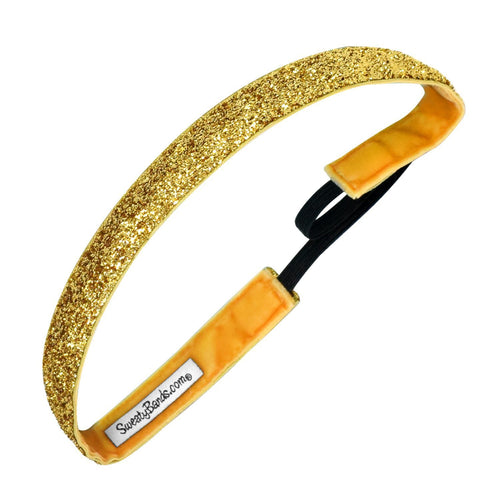 Viva Diva | Gold | 5/8 Inch Sweaty Bands