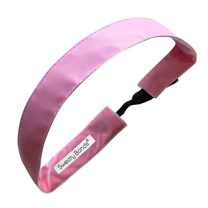 Whip Me Into Shape | Light Pink | 1 Inch Sweaty Bands Non Slip Headband