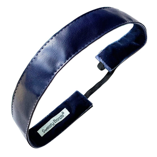Whip Me Into Shape | Navy | 1 Inch Sweaty Bands Non Slip Headband