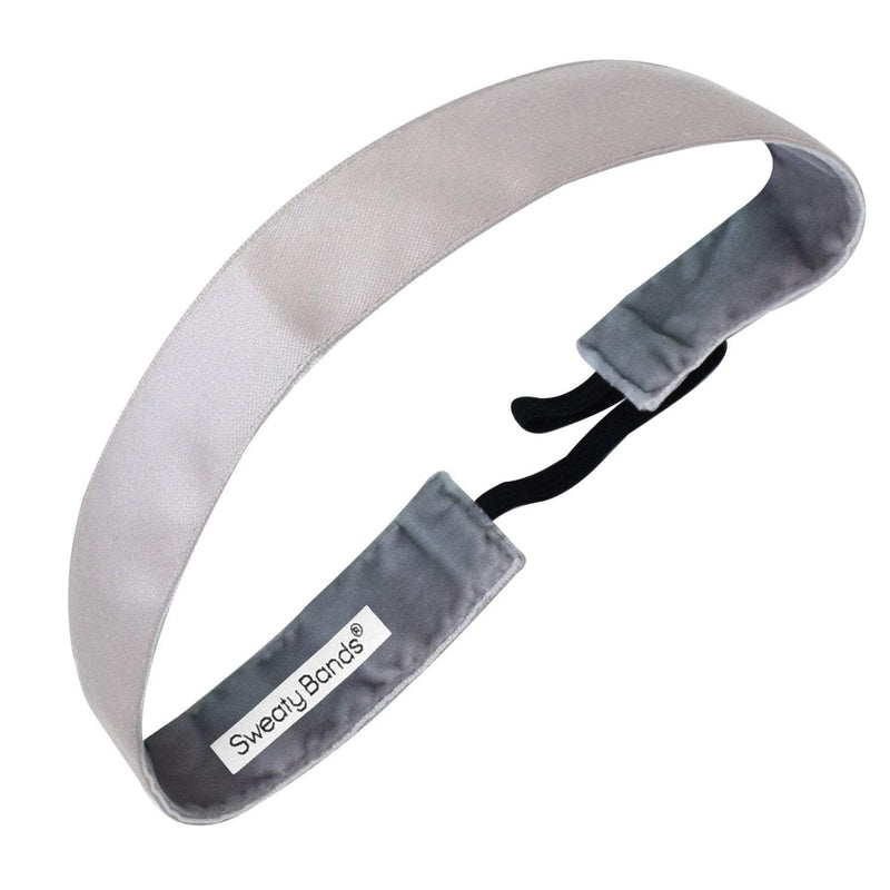 Wicked | Light Grey | 1 Inch Sweaty Bands