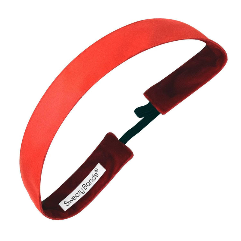 Wicked | Red | 1 Inch Sweaty Bands