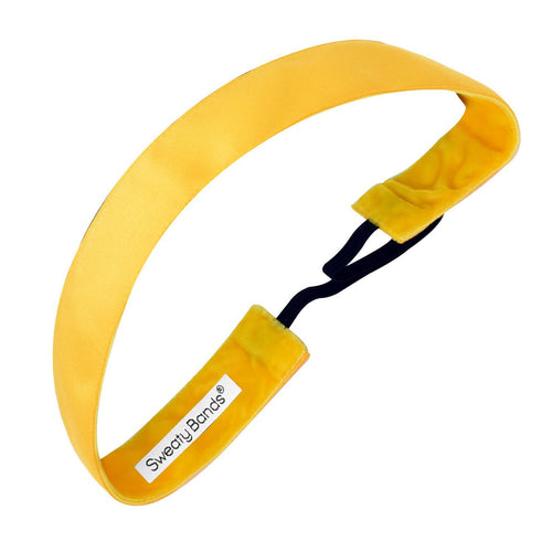 Wicked | Yellow Gold | 1 Inch Sweaty Bands