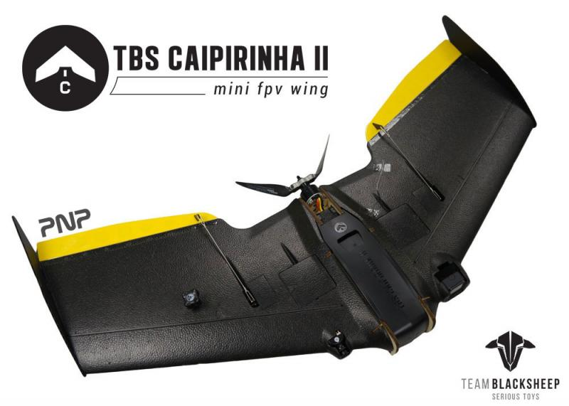TBS Caipirinha II PNP 930mm Mini FPV Wing Plane
