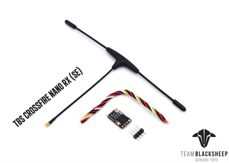 TBS Crossfire Nano SE Receiver & Immortal T Antenna