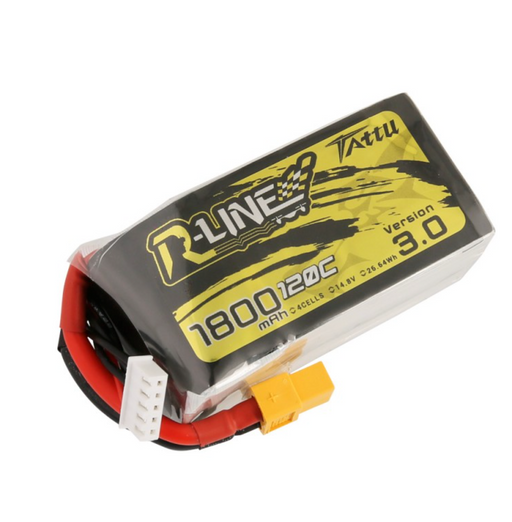 Tattu R-Line V3 1800mAh 4s 14.8V 120C LiPo Battery