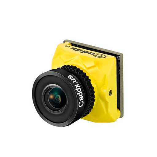 Caddx Ratel 1.66mm 1200TVL FPV Drone Camera - Yellow - Side