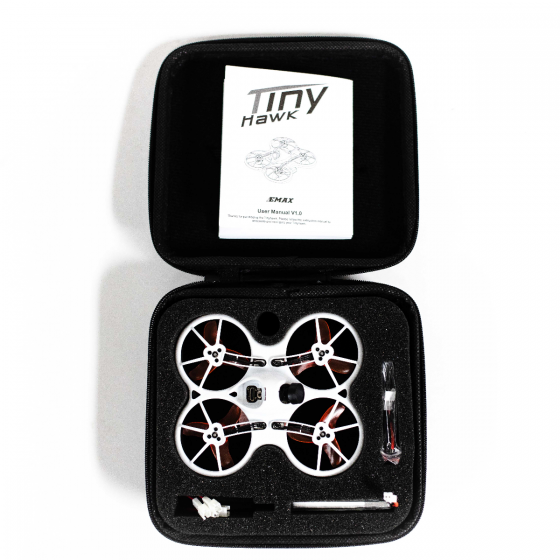 Emax Tinyhawk Indoor Micro FPV Racing Drone Carry Case - Open