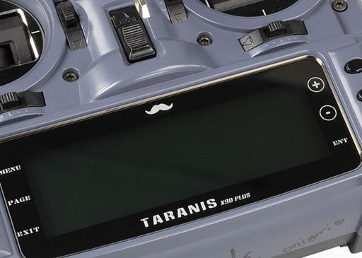 ETHiX Taranis X9D Radio Transmitter Screen Protector - Installed