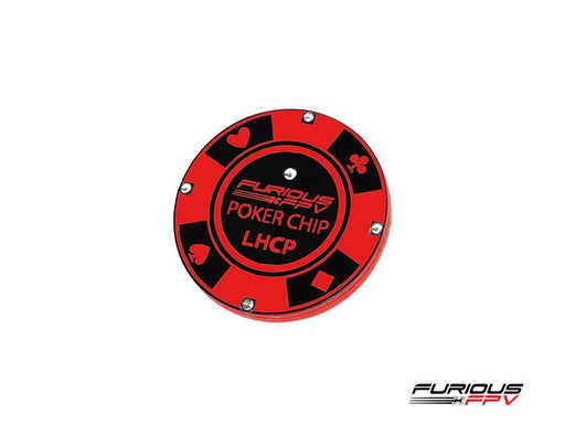 FuriousFPV Poker Chip 5.8G LHCP SMA Patch FPV Goggle Antenna - Front