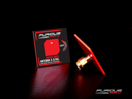 FuriousFPV Feather Race 5.8G LHCP SMA Patch FPV Goggle Antenna - All