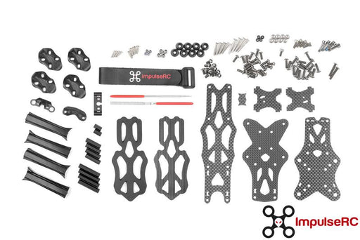 ImpulseRC Apex Quadcopter Drone Frame Body Kit - All Parts