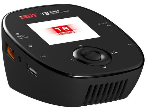 iSDT T8 BattGO 1000W 30A Smart Battery Charger - Front 2