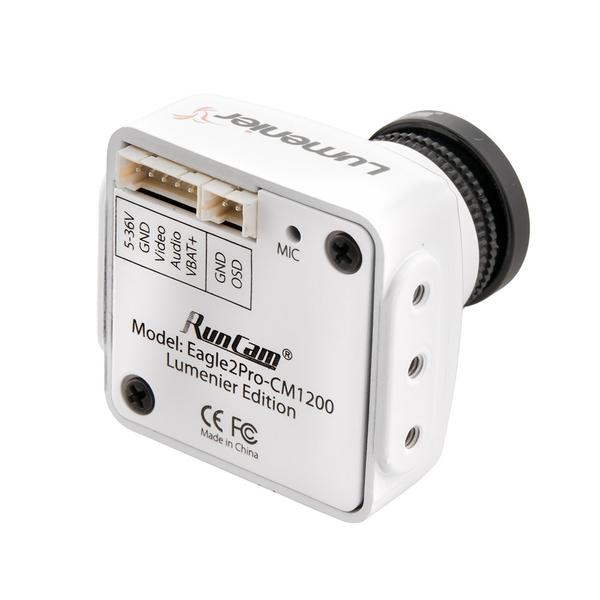 Lumenier Eagle 2 Pro CM-1200 FPV Camera- 800TVL - White - Back