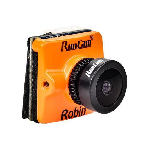 RunCam Robin Micro 1.8mm / 2.1mm 700TVL FPV Drone Camera - Orange - Front 1
