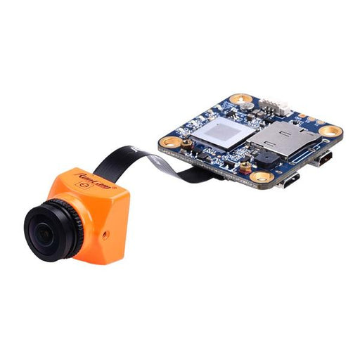 RunCam Split 2S 1080p 60fps HD DVR FPV Drone Camera - Orange - Front