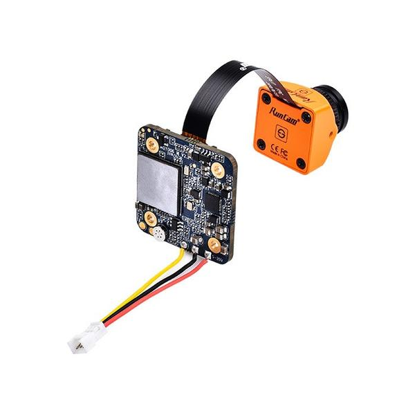 RunCam Split Mini 2 1080p 60fps HD DVR FPV Drone Camera - Orange - Back