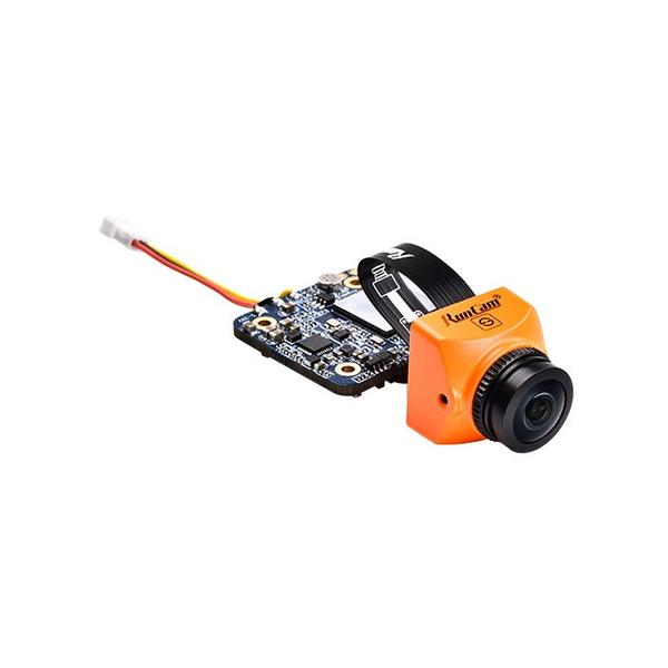 RunCam Split Mini 2 1080p 60fps HD DVR FPV Drone Camera - Orange - Front 3