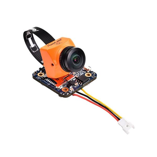 RunCam Split Mini 2 1080p 60fps HD DVR FPV Drone Camera - Orange - Front 2