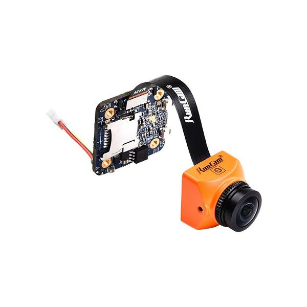 RunCam Split Mini 2 1080p 60fps HD DVR FPV Drone Camera - Orange - Front 1