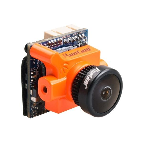 RunCam Swift 2 Micro 2.1mm 600TVL CCD FPV Drone Camera - Orange - Front 2