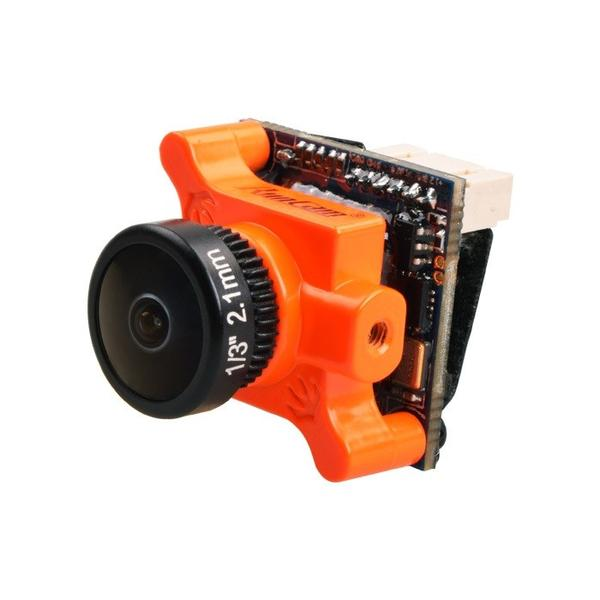 RunCam Swift 2 Micro 2.1mm 600TVL CCD FPV Drone Camera - Orange - Front 1