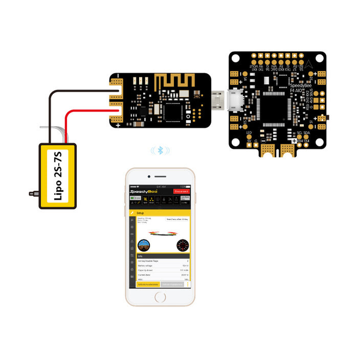 Speedy Bee Bluetooth-USB Flight Controller Adapter - Setup