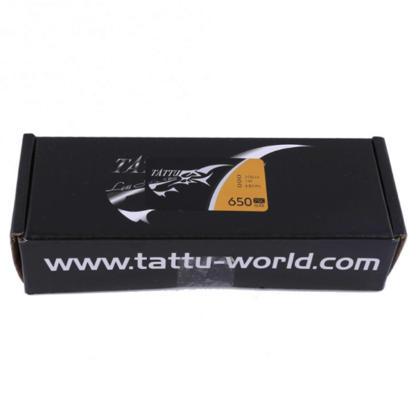 Tattu LiPo Battery - 650mAh, 2s1p, 7.4V, XT30 Plug - Box