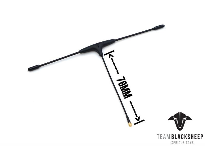 Team BlackSheep Crossfire Immortal T V2 FPV Drone Antenna - Specs