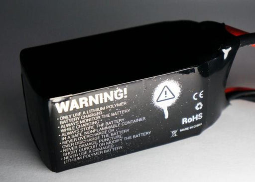 TBS Graphene Battery - 1500mAh, 4s1p, 14.8V, 75C, XT60 / JST-XH - Back