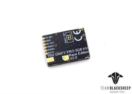TBS Unify Pro 5.8G HV Race 2 FPV Video Transmitter (VTX) MMCX - Back