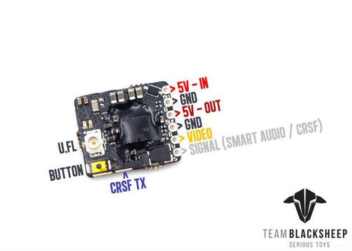 TBS Unify Pro32 Nano 5.8G FPV Video Transmitter (VTX) SMA - Specs