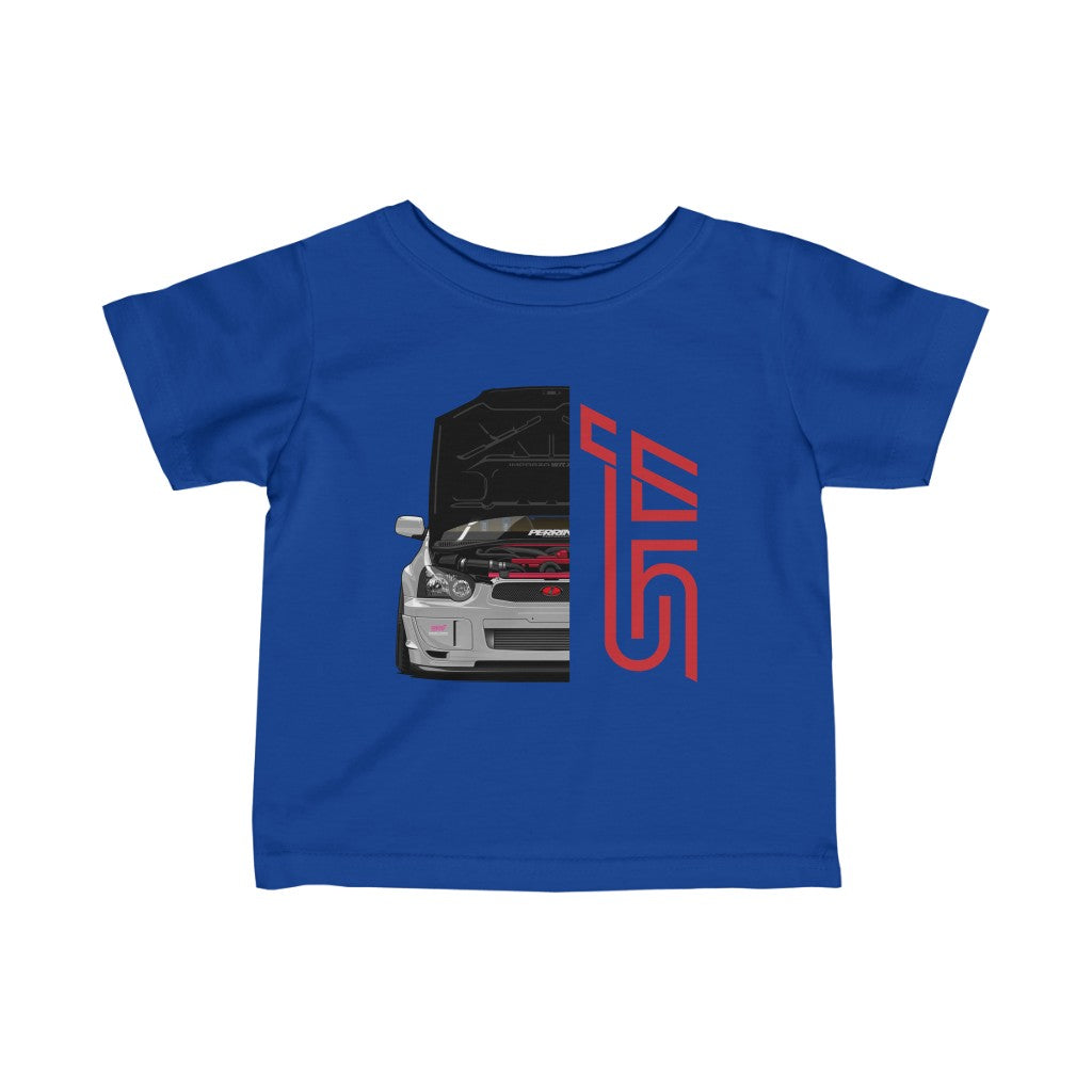 Infant Subaru WRX STI Shirt for Babies