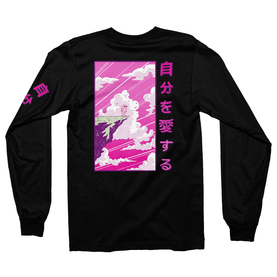 Anime Black Long Sleeve