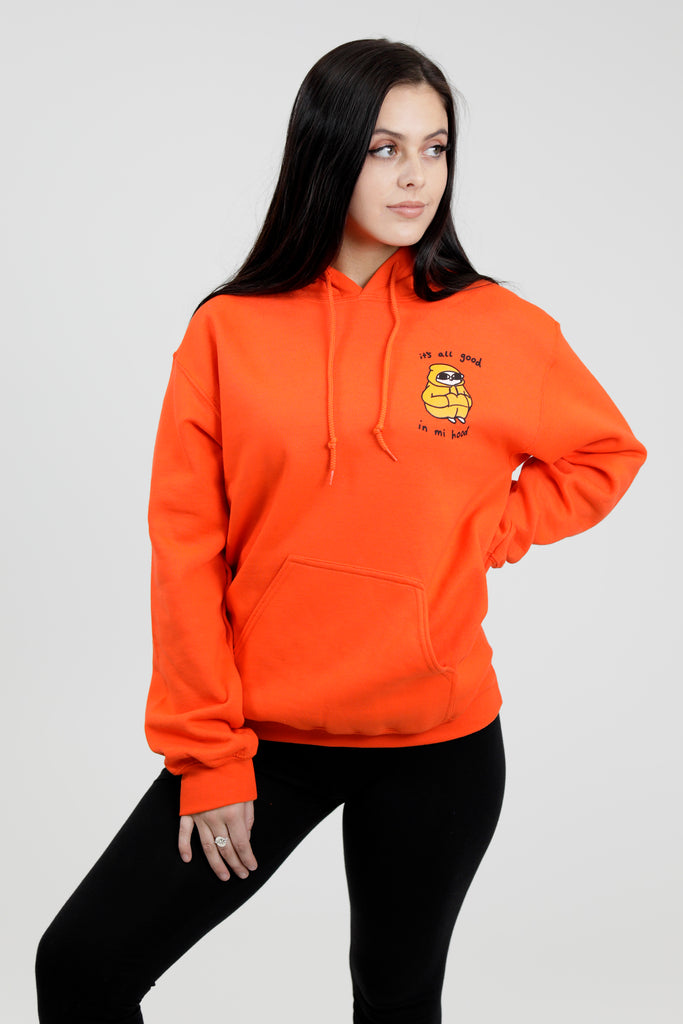 Good In Mi Hood - Orange Hoodie