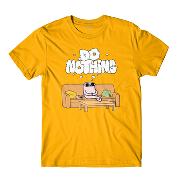 Do Nothing Gold Tee