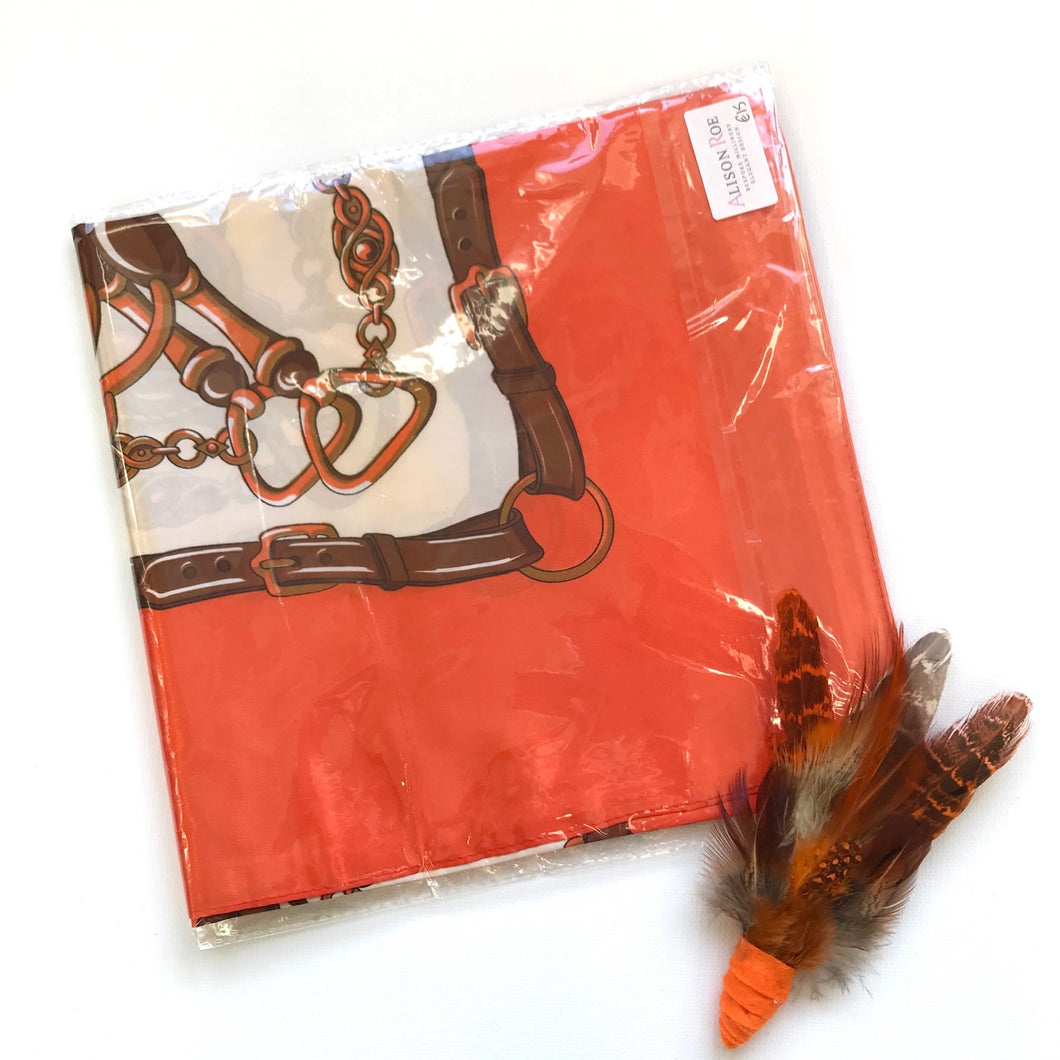 Chevalin Scarf - Orange