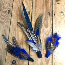 Extra Large Feather Hat Pin for Fedora hats