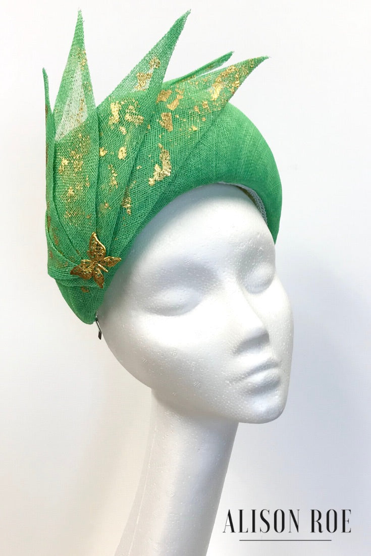 Georgiana wide crown headpiece