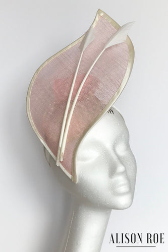 Pink headpiece to hire