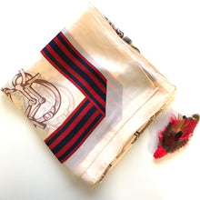 Cheval Scarf - Beige