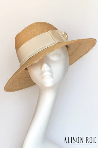 Straw hat for hire
