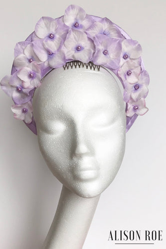 A33 - Mauve Halo Crown Headpiece for Hire