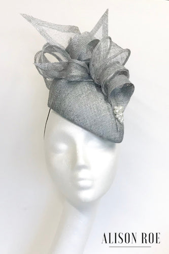 B62 - Silver Teardrop Headpiece for Hire